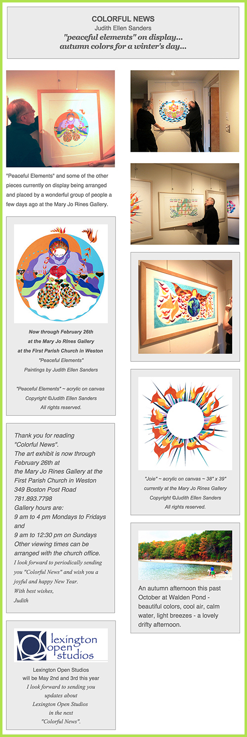 Colorful News-Winter 2015
